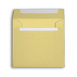 Pretty Butter Yellow Shade Of Light Yellow Envelope