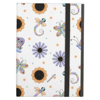 Pretty Butterflies and Dragonflies iPad Air Case