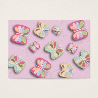 Pretty Butterflies Flutter By Babysitting Business Business Card
