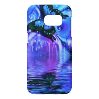 pretty butterfly abstract samsung galaxy s7 case