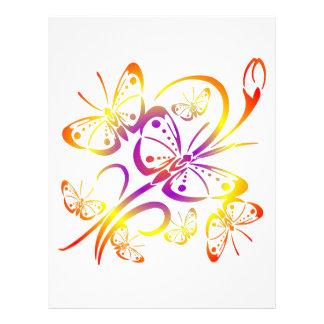 Pretty Butterfly Art #021 Custom Flyer