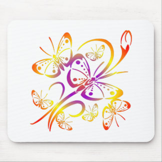 Pretty Butterfly Art #021 Mouse Pad