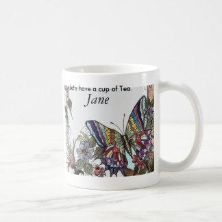Pretty Butterfly Coffee Mug