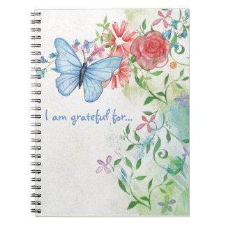Pretty Butterfly Gratitude Notebook