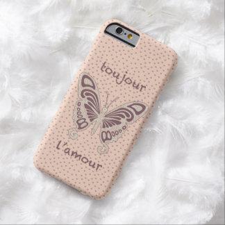 Pretty Butterfly Loveheart Pattern iPhone 6 Case
