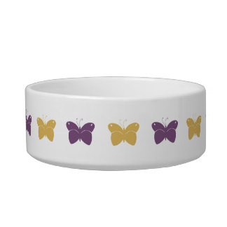 Pretty Butterfly Pet Bowl