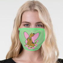 Pretty Butterfly Scooby-Doo Face Mask