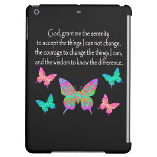 PRETTY BUTTERFLY SERENITY PRAYER DESIGN