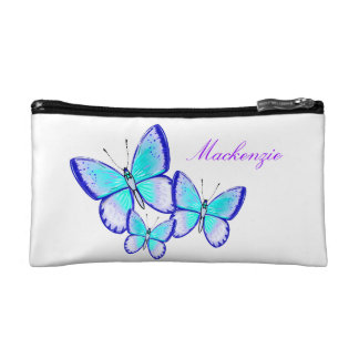 Pretty Butterfly Trio Cosmetic Bag