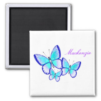 Pretty Butterfly Trio Magnet
