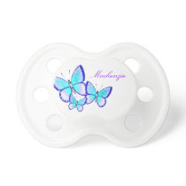 Pretty Butterfly Trio Pacifier
