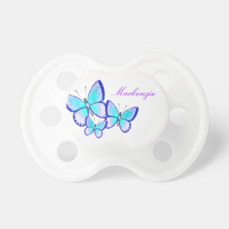 Pretty Butterfly Trio Pacifier
