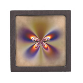 Pretty Butterfly Wings Premium Jewelry Boxes