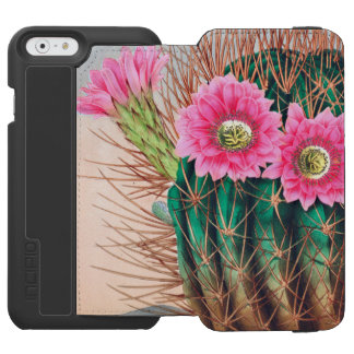 pretty cactus iPhone 6/6s wallet case