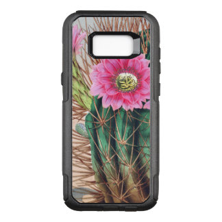 pretty cactus OtterBox commuter samsung galaxy s8+ case