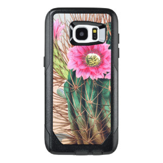 pretty cactus OtterBox samsung galaxy s7 edge case
