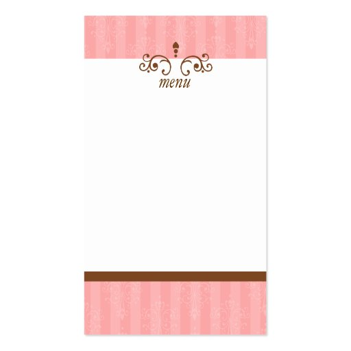 Pretty Cake Business Cards (back side)
