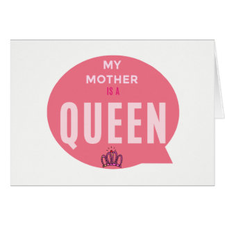Pretty card to presentear its mother!