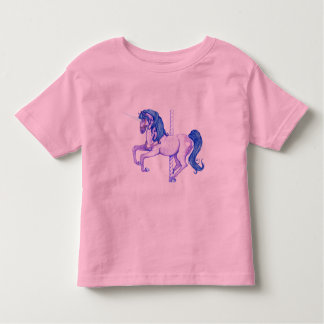 Pretty Carousel Unicorn Art Toddler T-shirt