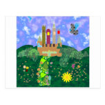 pretty castle postcard