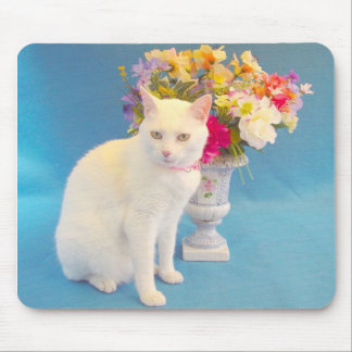 Pretty Cat Mouse Pad