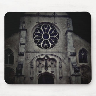 Pretty cathedral picture mouse pad