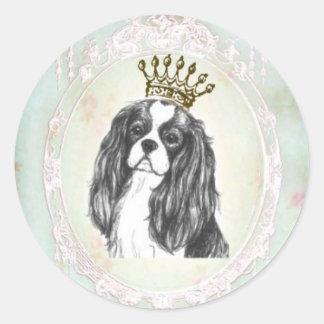 Pretty Cavalier King Charles Spaniel Sticker