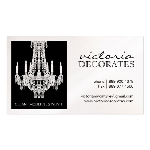 Chandelier business card template business card templates page3 pretty chandelier calling cards business card templates reheart Gallery