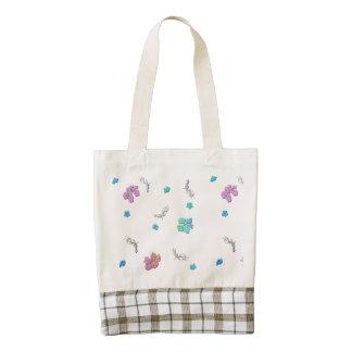 Pretty Cherry Blossom Flowers Zazzle HEART Tote Bag