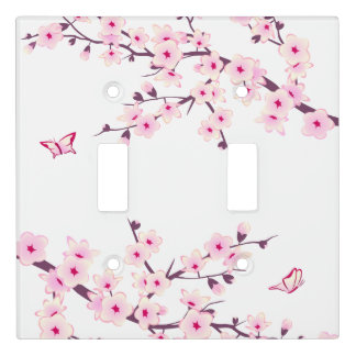 Pretty Cherry Blossom Light Switch Cover