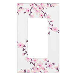 Pretty Cherry Blossoms Light Switch Cover
