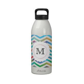 Pretty Chevron Water Bottles