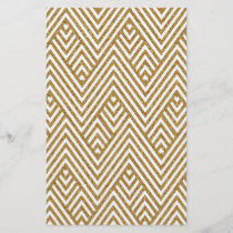 Pretty chevron zigzag diamond shapes pattern