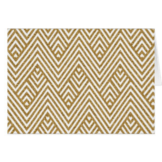 Pretty chevron zigzag diamond shapes pattern card