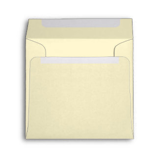 Pretty Chic Pale Butter Yellow Envelopes