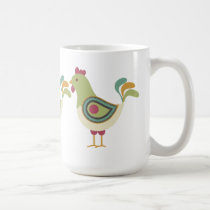 Pretty Chickens Coffee Mug
