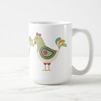 Pretty Chickens Coffee Mug