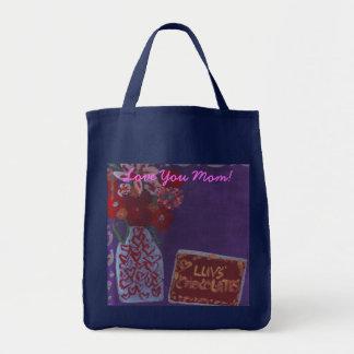 Pretty chocolates, Love You Mom! Bag