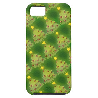 Pretty Christmas Holiday Trees iPhone 5 Cases