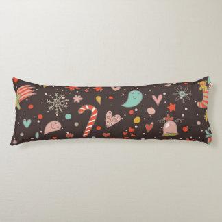 Pretty Christmas pattern Body Pillow