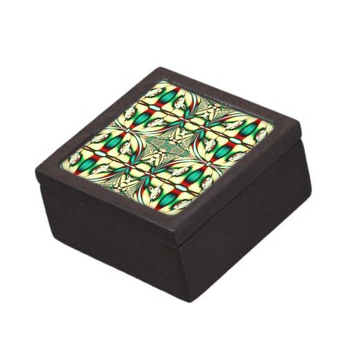 Pretty Christmas Pattern Premium Jewelry Boxes