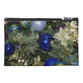 Pretty Christmas Tree Baubles Travel Accessories Bags