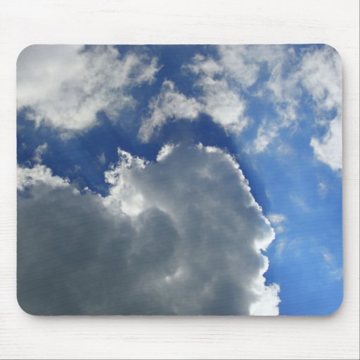 Pretty Clouds Mouse Pad
