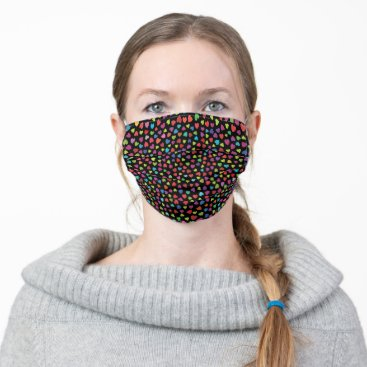 Pretty color Hearts Cloth Face Mask