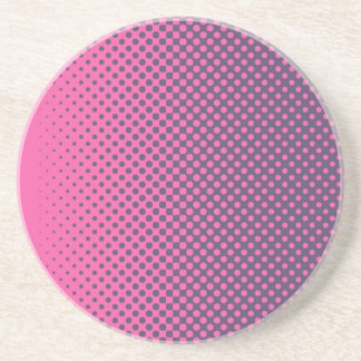 Pretty color with small points coaster