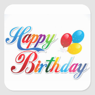 happy birthday letter happy birthday letters stickers zazzle 22083