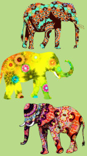 41f864d59 Artsy Elephant Phone | Tablet | Laptop | iPod - Cases & Covers | Zazzle