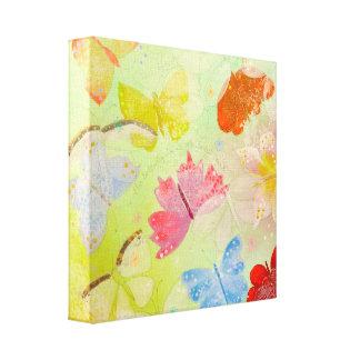 Pretty Colorful Butterflies. Canvas Print