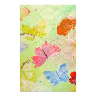 Pretty Colorful Butterflies. Flyer