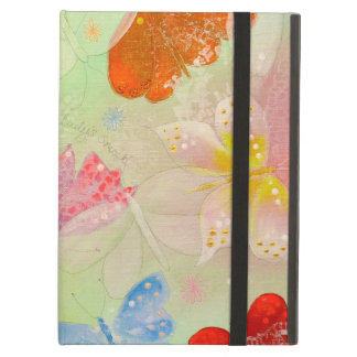 Pretty Colorful Butterflies. iPad Covers